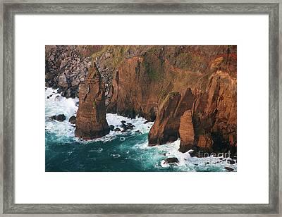 Coastal Detail Framed Print by Gaspar Avila