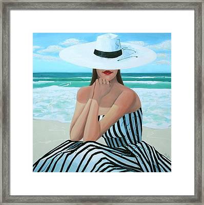 Coastal Dreams Framed Print by Thalia Kahl