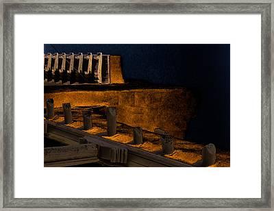 Coastal Embankment Framed Print