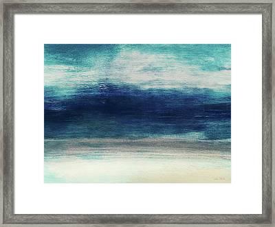 Coastal Escape 2- Art By Linda Woods Framed Print