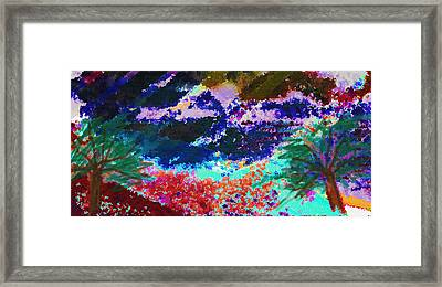 Coastal Flavours Framed Print by Paul Sutcliffe