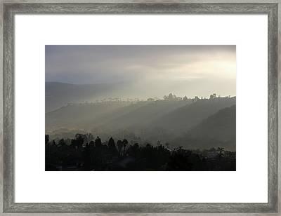 Coastal Fog  Framed Print by Robin Street-Morris