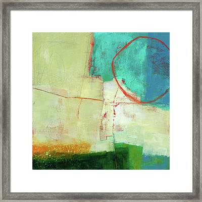 Coastal Fragment #7 Framed Print by Jane Davies