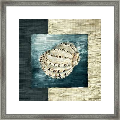 Coastal Jewel Framed Print by Lourry Legarde