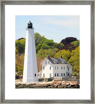 Coastal Lighthouse-c Framed Print