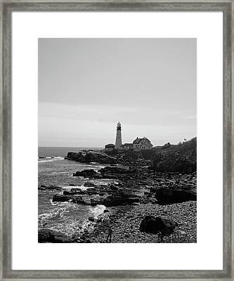 Coastal Maine Framed Print