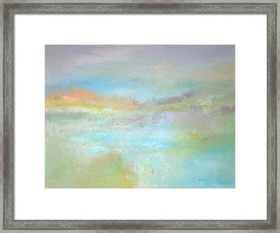Coastal Mist Framed Print by Filomena Booth