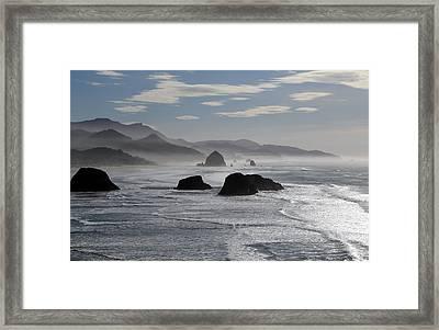 Coastal Mist Framed Print by Randall Brewer