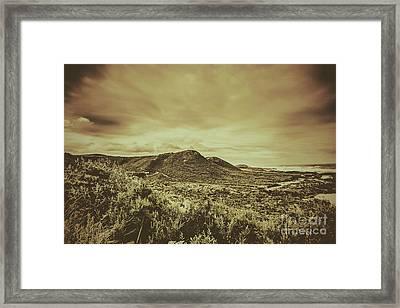 Coastal Mountain Range  Framed Print by Jorgo Photography - Wall Art Gallery