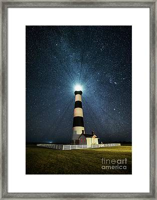 Coastal Nights Framed Print