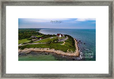 Coastal Nobska Point Lighthouse Framed Print