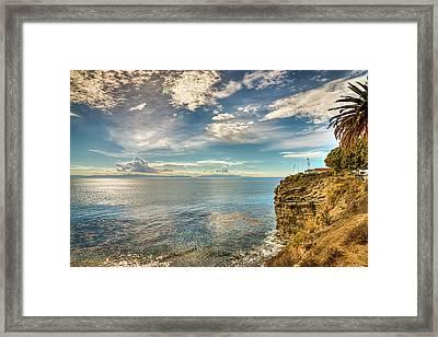 Coastal Ocean View Framed Print