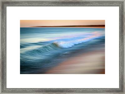 Coastal Ocean Wave Framed Print