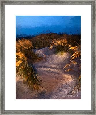 Coastal Passage Framed Print by Dan Carmichael
