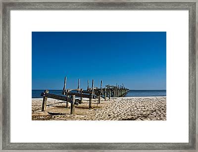 Coastal Remains Framed Print by Christopher Holmes
