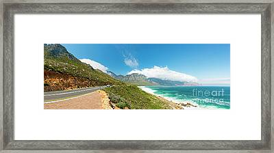 Coastal Road South Africa Framed Print by Tim Hester