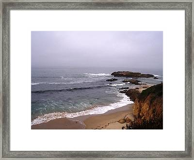 Coastal Scene 5 Framed Print by Pharris Art