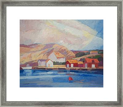 Coastal Summer Framed Print by Lutz Baar