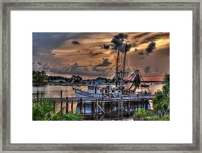 Coastal Sunset Framed Print by Alex Owen