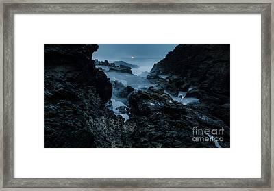 Coastal Trail Long Exposure Framed Print