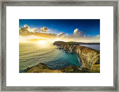 Coastal Vibes Framed Print by Peter Irwindale