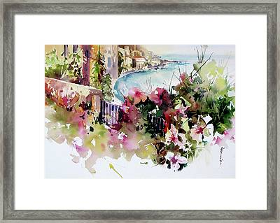 Coastal Vista Framed Print
