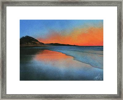 Coastal Walk Vii  Framed Print by Robin Street-Morris