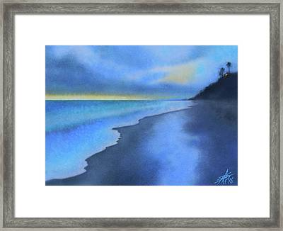Coastal Walk Vi Framed Print