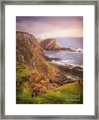 Framed Print featuring the photograph Coastal Walks IIi by Maciej Markiewicz