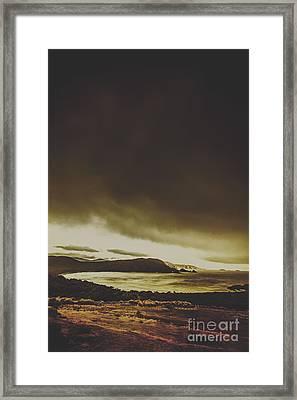Coastal Wash Framed Print by Jorgo Photography - Wall Art Gallery