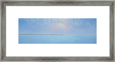 Coasting Into Lavender Framed Print by Jaison Cianelli