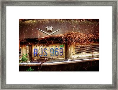 Cobb County Cadillac Framed Print