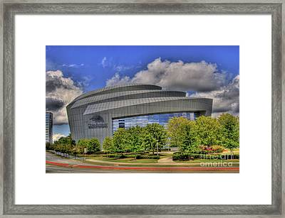 Cobb Energy Center Framed Print by Corky Willis Atlanta Photography