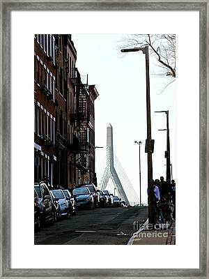 Cobb Hill Framed Print by Deena Withycombe