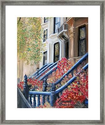 Cobble Hill Framed Print