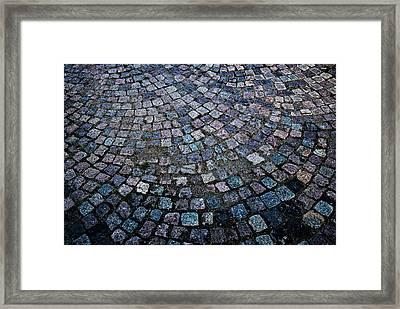 Cobblestones Framed Print by Matt Plyler