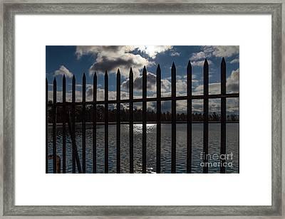 Cobb's Hill Reservoir Framed Print by William Norton