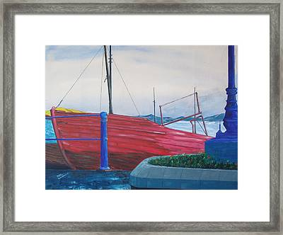 Cobh Harbor Ireland Framed Print by Kevin Callahan