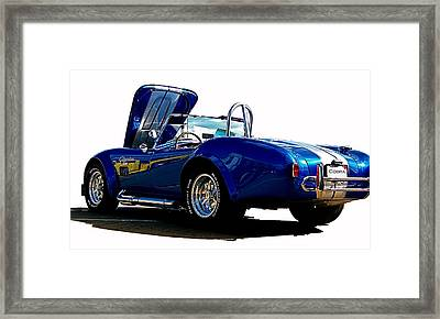Cobra 427 Framed Print by Sue Stefanowicz