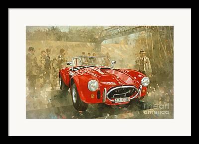 Race Cars Framed Prints
