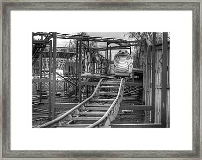 Cobra Coaster Framed Print