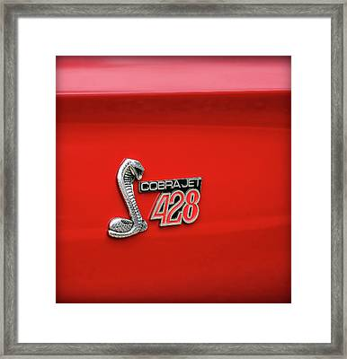 Cobra Jet 428 Framed Print by Gordon Dean II