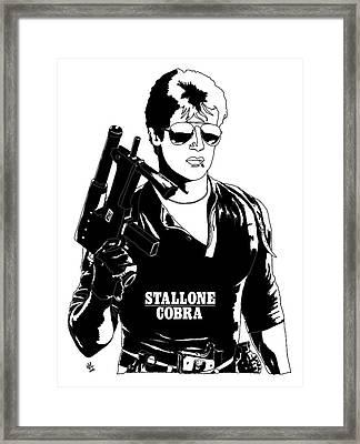 Cobra Movie Tribute Framed Print