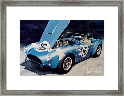 Cobra Framed Print by Robert Hooper