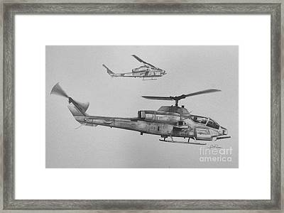 Cobra Section Framed Print