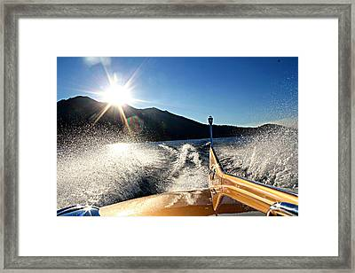 Cobra Tail Framed Print