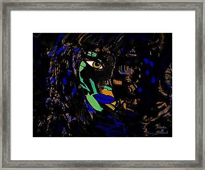 Cobra Woman Framed Print by Natalie Holland