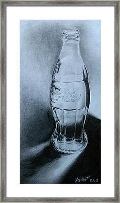 Coca-cola For You  Framed Print by Angelina G T
