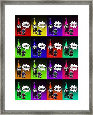 Coca-cola Forever Young 13 Framed Print