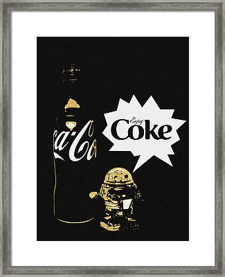 Coca-cola Forever Young 7 Framed Print